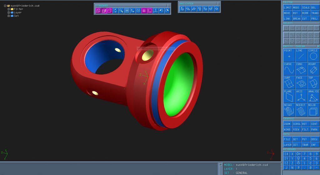 Tebis CNC Metallbearbeitung CAD CAM Software